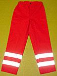JuNo-BaLa Munkaruházat - Piros mentős nadrág szürke csíkkal a3d4717a50